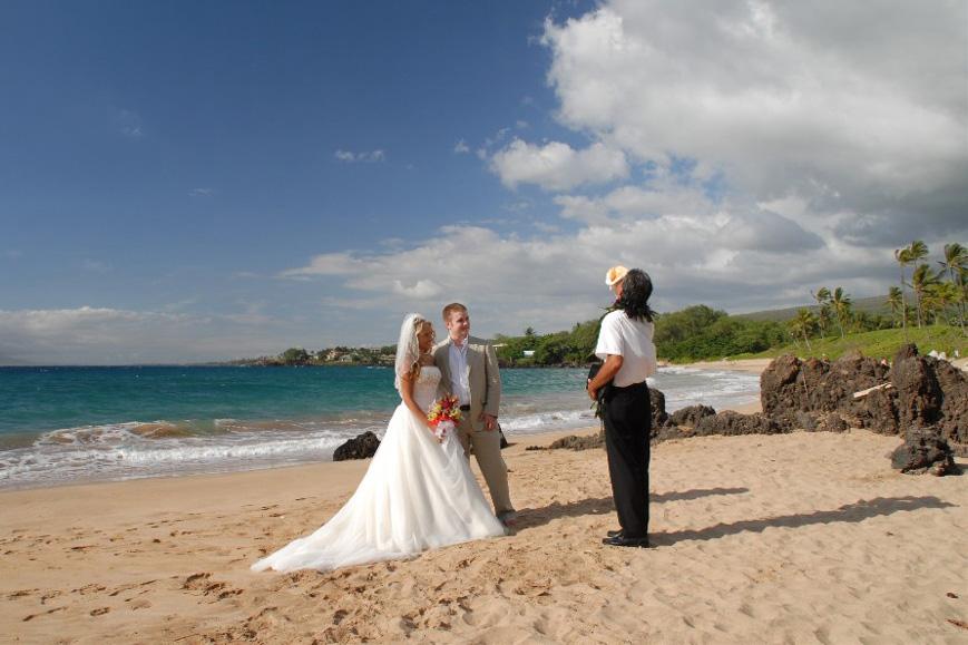 Maui Beaches People Maui Beach Weddings Makena Amp